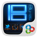 Blu-ray GO LauncherEX Theme icon