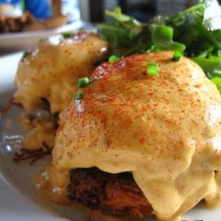 Steak and Chipotle Eggs Benedict