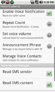 Voice Full Screen Caller ID Li- screenshot thumbnail