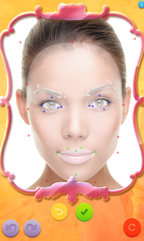 Virtual Makeup Makeover Lite - screenshot