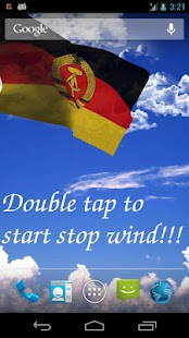 East Germany Flag LWP - screenshot thumbnail