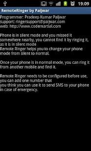 Remote Ringer (FREE) - Paijwar- screenshot thumbnail