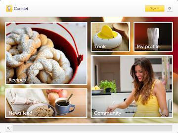 Cooklet for tablets Screenshot 12