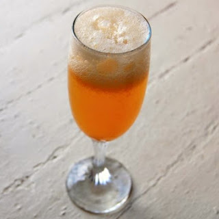 Persimmon Fizz Cocktail