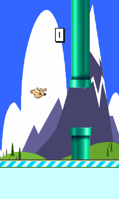 Flappy Dog - screenshot