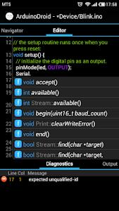 ArduinoDroid - Arduino IDE v3.11