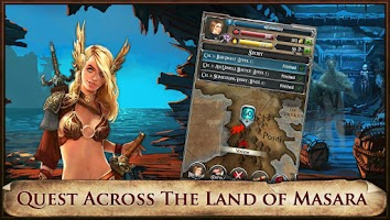 Screenshot of Spelltorn, Clash of Fates RPG