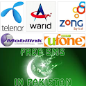 Free SMS to Pakistan Mobiles icon