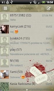 GO SMS Pro Military Theme Free