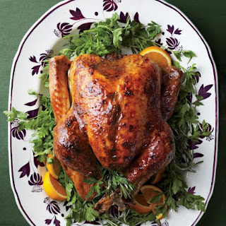 Turkey with Brown-Sugar Glaze.