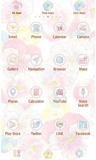 無料个人化Appの★免費換裝★可愛的三色堇 記事Game