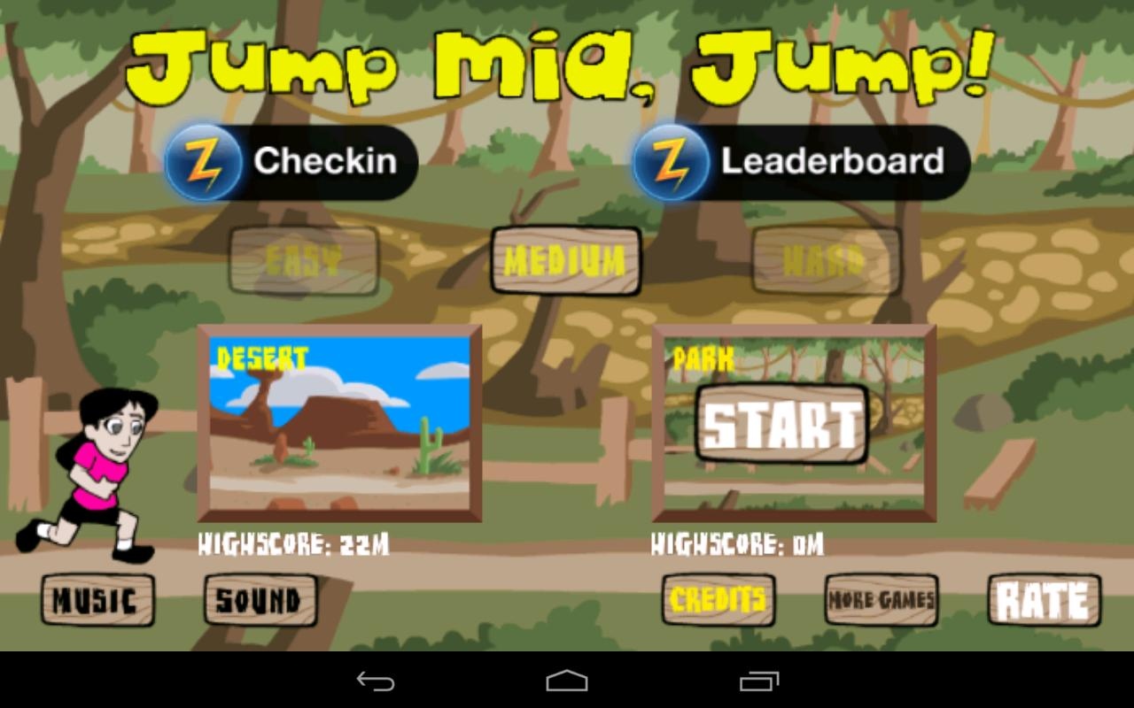 Jump Mia, Jump! (Lite) - screenshot