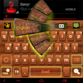 Wood GO Keyboard theme