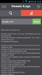 Domain Search- screenshot thumbnail