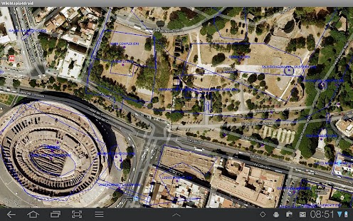 WikiMapia for Droid - screenshot thumbnail