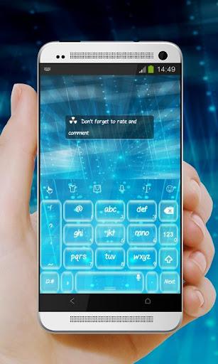 無料个人化Appのブルー TouchPal Theme 記事Game