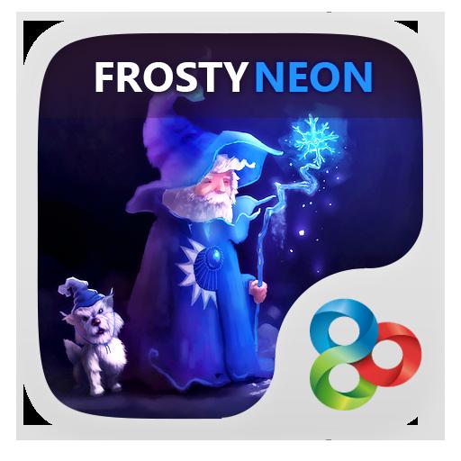 冷若冰霜的霓虹燈啟動 個人化 App LOGO-硬是要APP