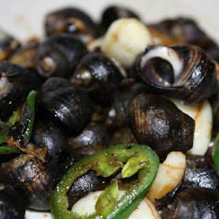 Boiled Periwinkles with Seaweed