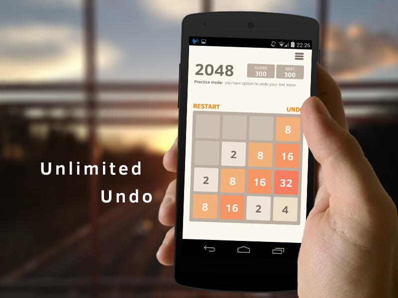 2048 Number puzzle game screenshot #4