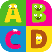 Alphabet monsters for Infant