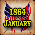 1864 Jan Am Civil War Gazette