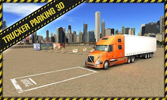 Screenshot of Trucker Parking 3D