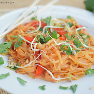 Healthy Pad Thai.