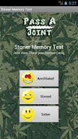 Screenshot of Stoner Memory Test: Weed Brain