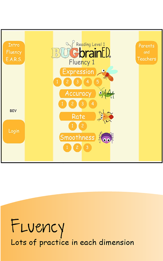 Fluency Level 1- screenshot