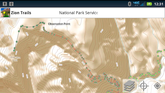 Zion National Park Trails- screenshot thumbnail