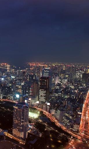 东京的摩天大楼
