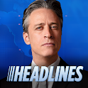 The Daily Show Headlines logo