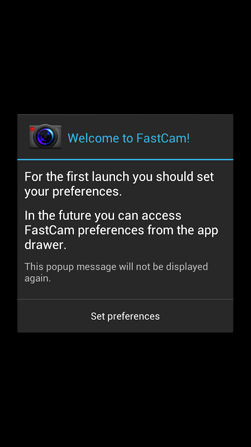 FastCam HD Quick Video Camera- screenshot