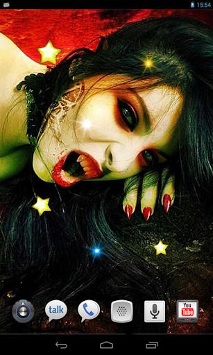 Vampire Story live wallpaper