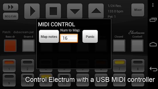 Electrum Drum DEMO - screenshot thumbnail