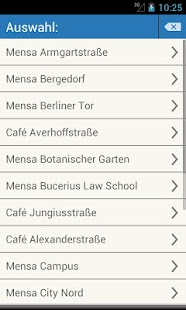 Mensa Hamburg - screenshot thumbnail