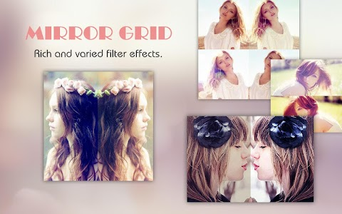 Mirror Grid - Photo Collage screenshot 2