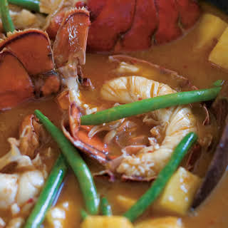 Red Curry of Lobster and Pineapple.