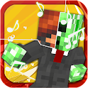 Pixel Groove Dancing Blocks icon