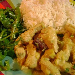 Chicken Curry in Coconut Milk.