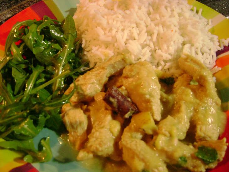 Chicken Curry in Coconut Milk Recipe