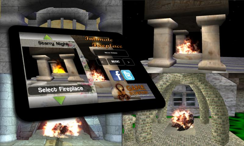 A Fireplace App - screenshot