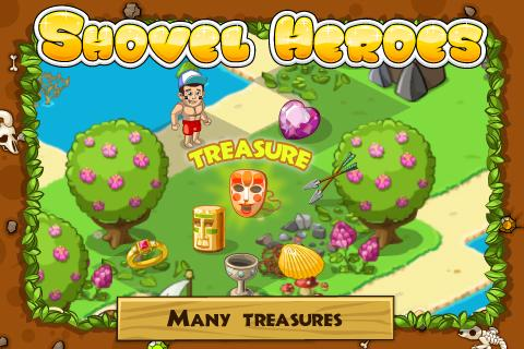 Shovel Heroes- screenshot