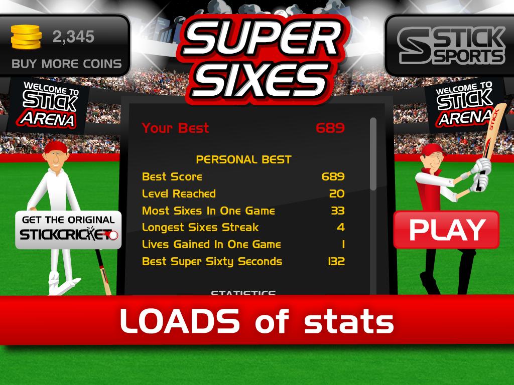 Stick Cricket Super Sixes screenshot #10