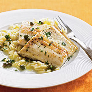Pan-Sautéed Trout with Capers.