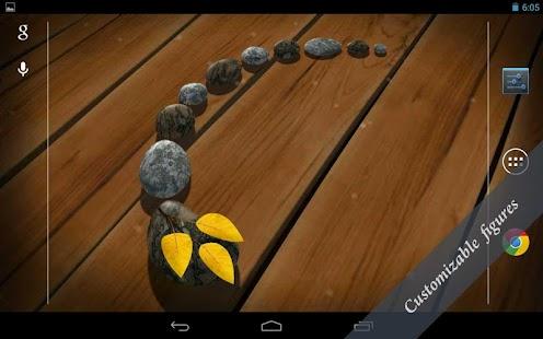 玩個人化App|3D Zen Stones Live Wallpaper免費|APP試玩