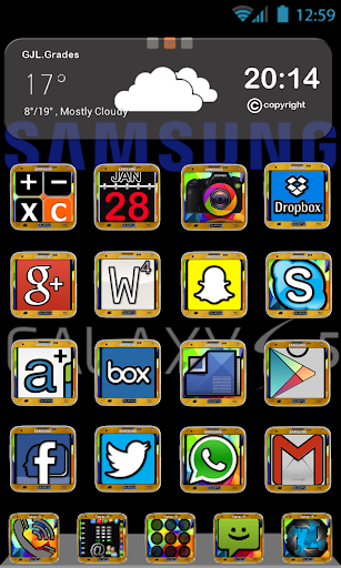 GLE theme Galaxy S Five
