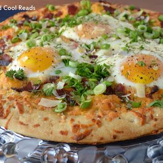 Bacon & Asparagus Breakfast Pizza.