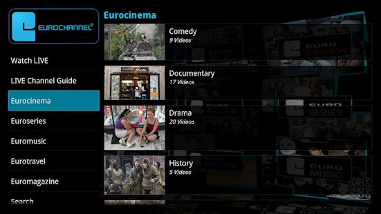 Eurochannel European Movies TV - screenshot thumbnail