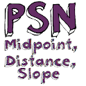 PSN Distance Midpoint Slope icon